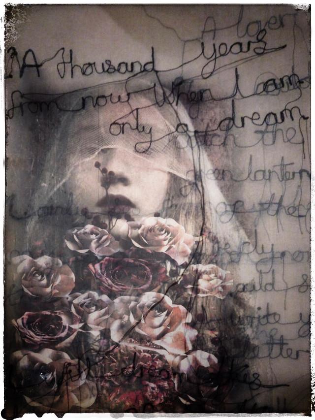 #vintage #babelart #art #emotions #overlays #doubleexposure #woman #roses #bouquet #madewithpicsart #myedit  @picsart #freetoedit