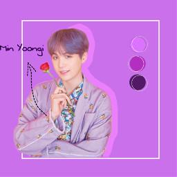 freetoedit purple minyoongi bts