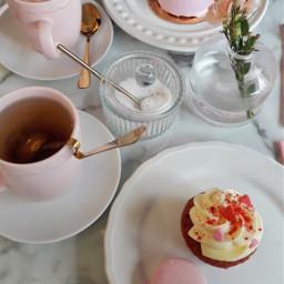 sweet pink yummy cupcakes love freetoedit