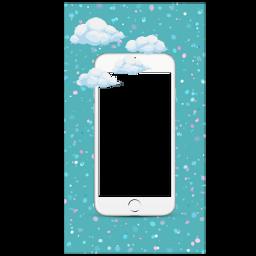 funimate iphone iphonebackground clouds starbackground freetoedit