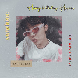 freetoedit happybirthday happybirthdayjhope bangtansonyeodan junghoseok