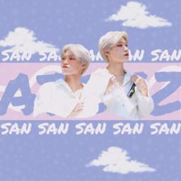 san ateez aesthetic kpop noise freetoedit