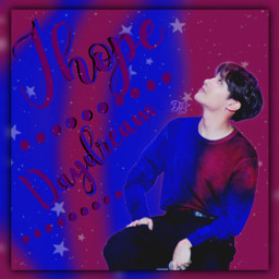jhope bts happybirthday kpop purple daydream freetoedit