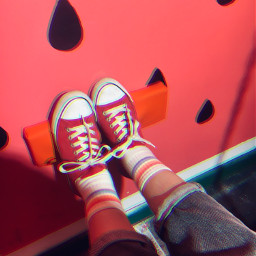 red shoes glitch