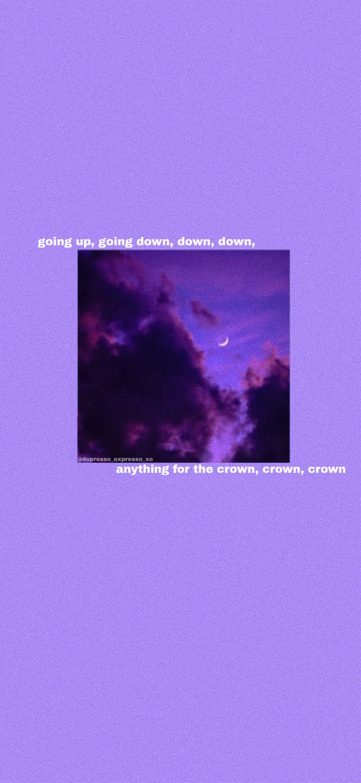 "I made a wallpaper!!! Lyrics from ""Primadona Girl"" my MARINA Tags: #marinaandthediamonds #wallpaper #purple #aesthetic #aestheticwallpaper #purpleaesthetic #purplewallpaper"