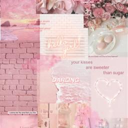 freetoedit pink background aesthetic softaesthetic