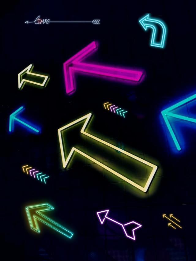 #freetoedit #remix #ftes #colorful #arrows