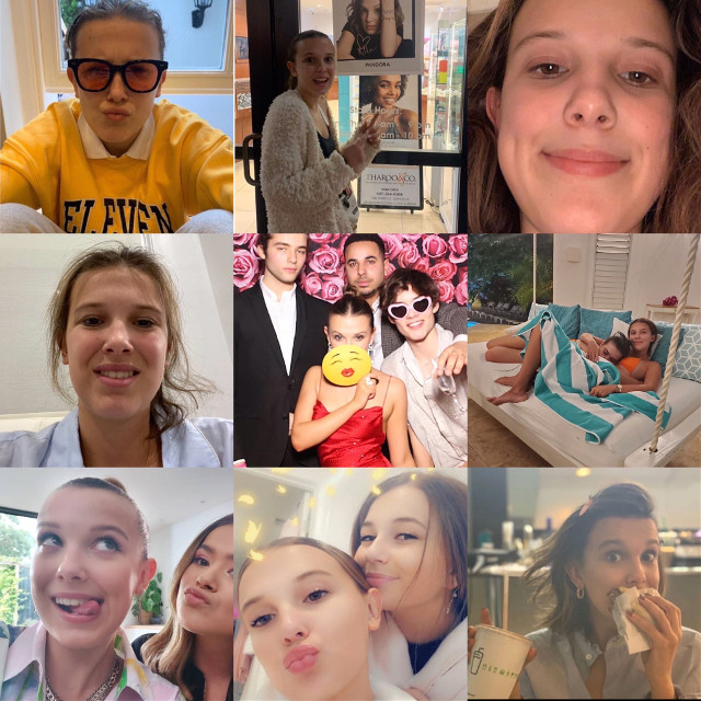 HAPPY BIRTHDAY ANGEL!!!! I can't believe your 16 already💗 @milliebobbybrownok #milliebobbybrown #milliebobby #bobbybrown #milliebrown #millie #bobby #brown
