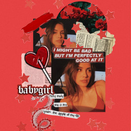 freetoedit red aesthetic goldenhour moodboard
