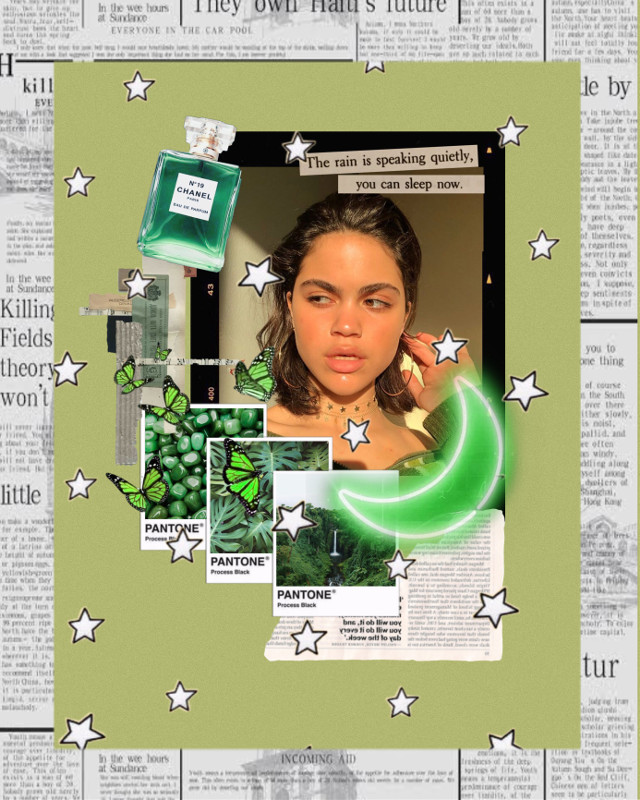 #freetoedit #green #aesthetic #moodboard