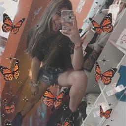 freetoedit butterflys fly away