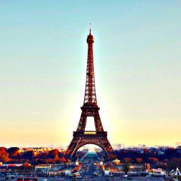 paris toureifel photoshop likeit abonne freetoedit