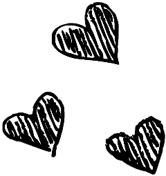 freetoedit hearts stickers picsart back