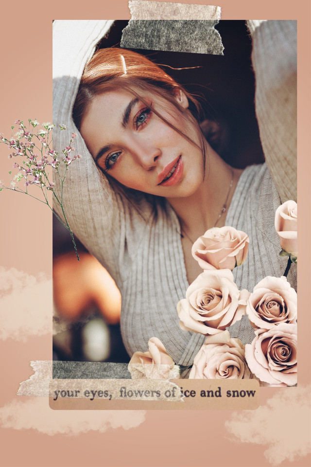 #freetoedit #template #flowers #march8 #girl #beige