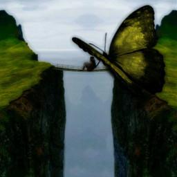 freetoedit giantanimal simpleedit simpleart butterfly