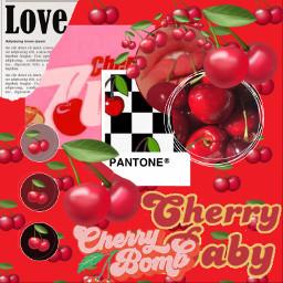 emoji cherry collage challenge vote freetoedit ecemojibackgrounds emojibackgrounds