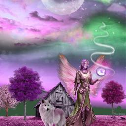 fantasyart fantasyartist magic picsart dreamworld freetoedit