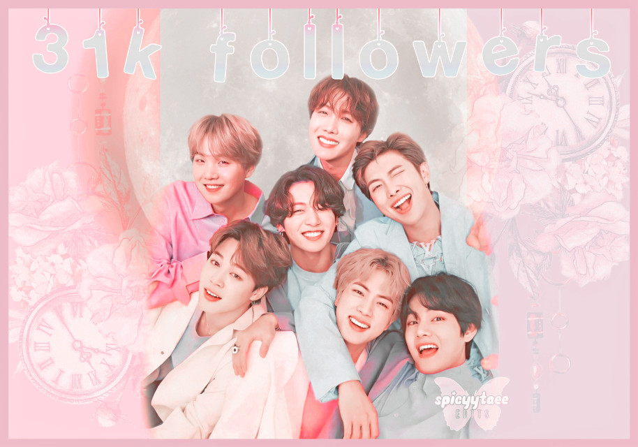 🧚🏻❀༄ [3 1 k  f o l l o w e r s]     ˗✎*✉️❁༺  Im really late- sorryyyyy ;-; but thank you soooo much for 31k followers i love you allll  ˗✎*🧸❁༺    ──── ・ 。゚☆: *.☽ .* :☆゚. ────   ↳[i n f o r m a t i o n]✰*.:。✧*  ˗✎*🎐❁༺  ➳ a b o u t   e d i t [⏳] ∾ 00:16:32 [🗓] ∾ feb 22 [🕒] ∾ 6:10pm [📱] ∾ polarr phonto picsart [👤] ∾ BTS  ˗✎*🍒❁༺  ➳ b e h i n d   s c e n e s [🎼] ∾ ON - bts ft sia [💭] ∾ 7/10 [🤍] ∾ mood😊  ˗✎*🧚🏻♀️❁༺  🧚🏻❀༄ Like, share, and follow [@spicyytaee] (me) for more ^^  ˗✎*🥂❁༺  ┍━━━━━━»•»🍨«•«━┑                  deysi signing out..... ┕━»•»🍨«•«━━━━━━┙  ˗✎*🍼🍌❁༺  [🏷] tAgSs #namjoon #jin #yoongi #hoseok #jimin #taehyung #jungkook #BTS #kpopedit #kpop