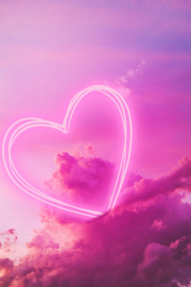 Voting Link: https://picsart.com/i/320147947471201?challenge_id=5e4a6d359d9b230df350190d #clouds #pinkclouds #heart #neon #pink #cottoncandy #backgrounds #remixit  #freetoedit #irccottoncandyskies #cottoncandyskies