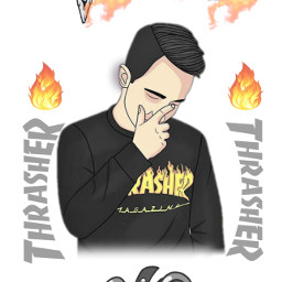 freetoedit trasher fuoco fiamme tumblr