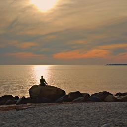 freetoedit naturephotograpy oceanview rocks siluet