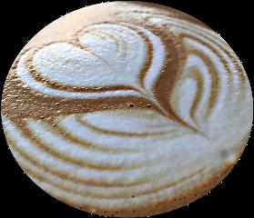 foam coffee heart shapemask circle freetoedit