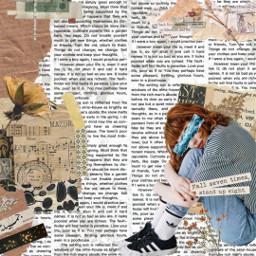 freetoedit paper letter girl journal