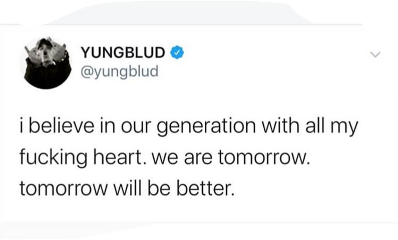yungblud dom tweet twitter quote freetoedit