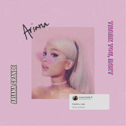 freetoedit arianagrande pink aesthetic thankunext