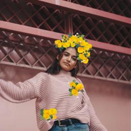 freetoedit yellowflowerbrush remix