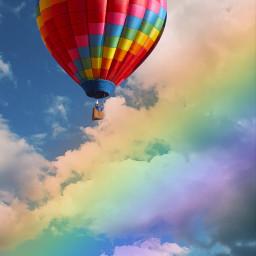 rainbowlightcontest balon creative freetoedit