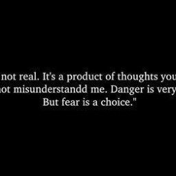 freetoedit fear choice notreal thoughts