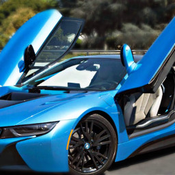 freetoedit remix bmw bmwi8 blue