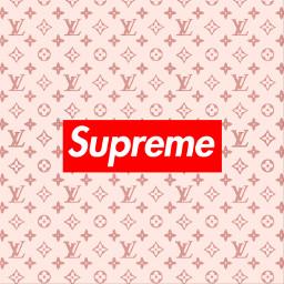 freetoedit supreme luisvoutton backround logo