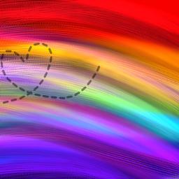 freetoedit фон фонаниме радуга