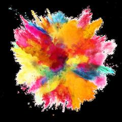 explosion diwali color background freetoedit