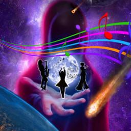 freetoedit ircdancinginthemoonlight dancinginthemoonlight silhouette