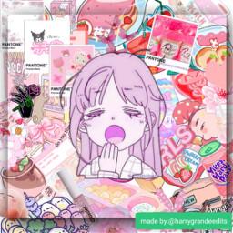 freetoedit pink aesthetic anime cute
