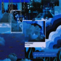 butterfly grungeaesthetic blue dark aesthetic freetoedit
