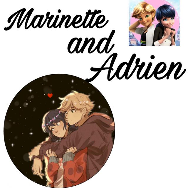 #marinette and adrien #freetoedit