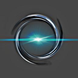 black blue circles darkgrey effects freetoedit srcneoncircle neoncircle
