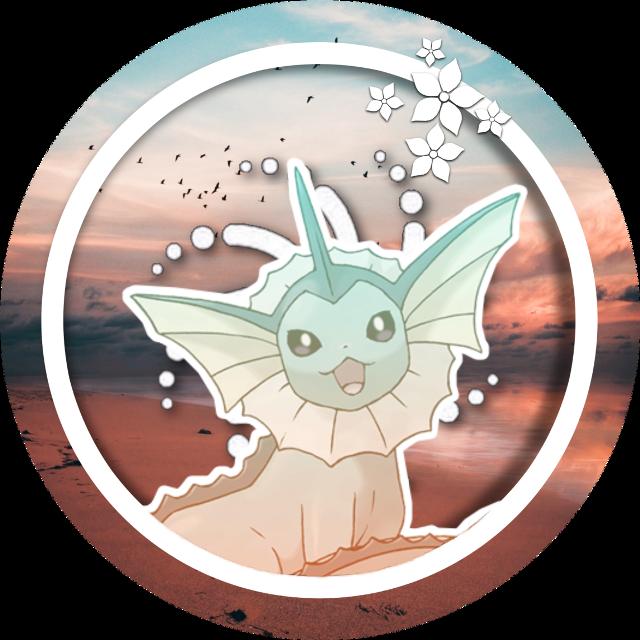 vaporeon edit i decided to do out of boredom. i just love vaporeon. | #freetoedit #ssk9edits #pokèmon #pokemon #gen1 #eeveelutions #vaporeon #water #icon