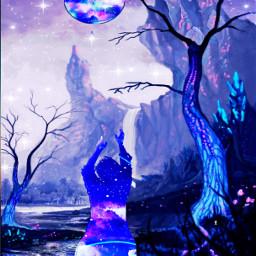 dancinginthelight picsartchallenge moon moonlight satrs ircdancinginthemoonlight freetoedit