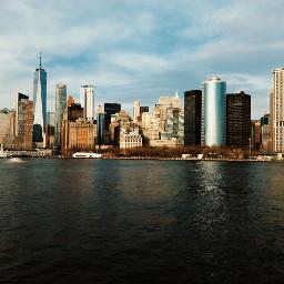 photography newyork skyline manhatten sunnyday