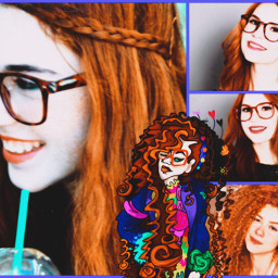 art girl redhead vengoria hollipolliyozza freetoedit