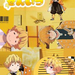 kny zenitsu zenitsuagatsuma anime animeboys