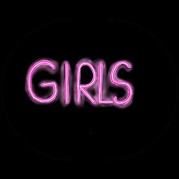 neon girls womensday woman calligraphy freetoedit