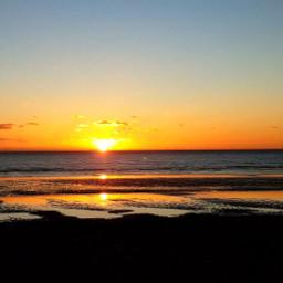pieknaibestia sunset seaside freedom
