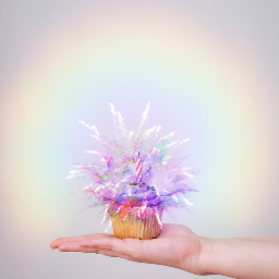 freetoedit rainbowbrush rainbow pastel cupcake