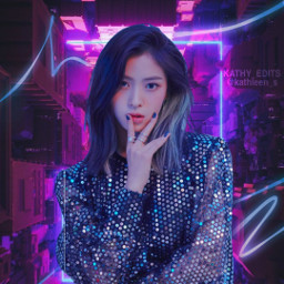 freetoedit ryujin itzy kpopedit idol